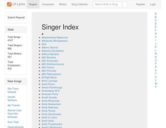 lklyrics.com screenshot