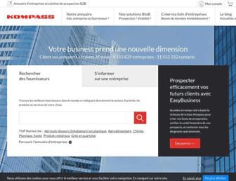 tn.kompass.com screenshot