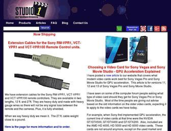 studio1productions.com screenshot