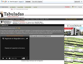Thumbshot of Tabuladas.com