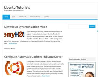 Thumbshot of Ubuntu-tutorials.com