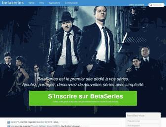 betaseries.com screenshot