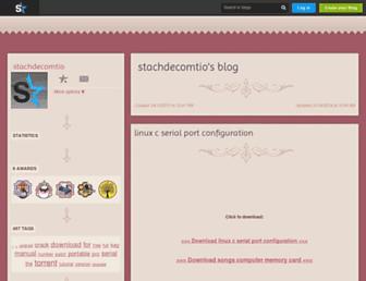 stachdecomtio.skyrock.com screenshot