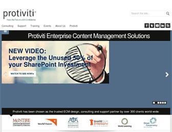 sharepoint.protiviti.com screenshot