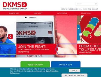 Thumbshot of Deletebloodcancer.org