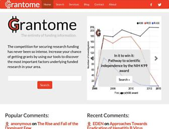 grantome.com screenshot