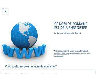 Main page screenshot of pixiome.fr