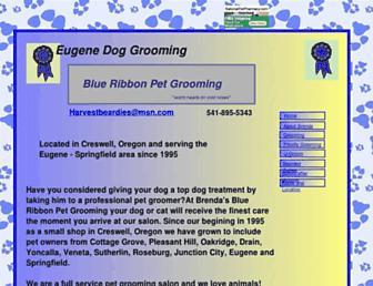 eugenedoggrooming.com screenshot