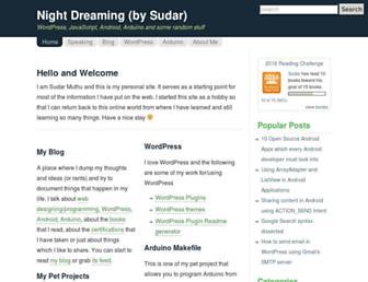 Thumbshot of Sudarmuthu.com