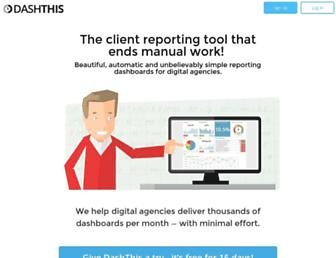Thumbshot of Dashthis.com