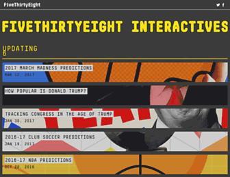 projects.fivethirtyeight.com screenshot