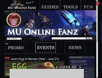 muonlinefanz.com screenshot