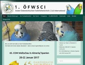 farbwellensittich-club.com screenshot