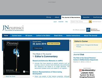 jneurosci.org screenshot