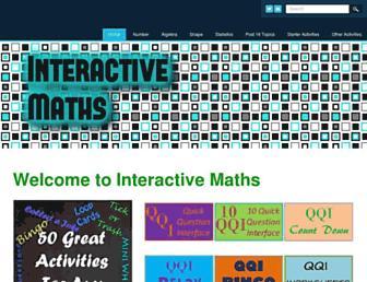 interactive-maths.com screenshot