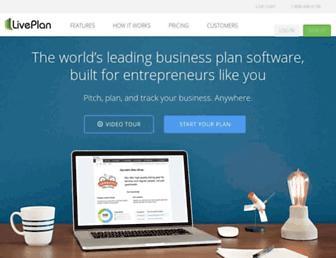 liveplan.com screenshot