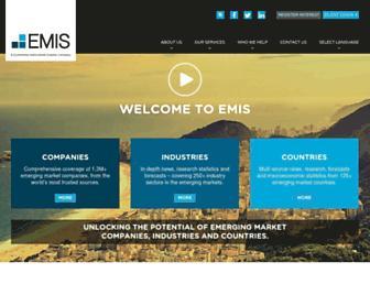 emis.com screenshot