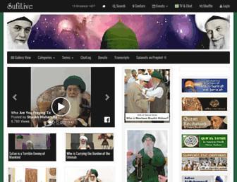sufilive.com screenshot