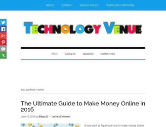 technologyvenue.com screenshot