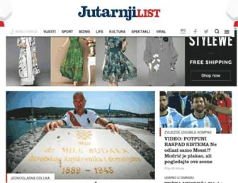 jutarnji.hr screenshot