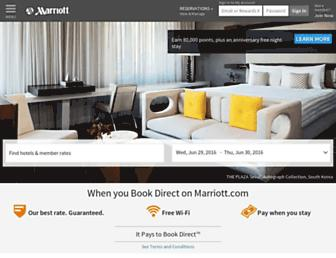 Thumbshot of Marriott.com