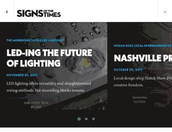 signsofthetimes.com screenshot