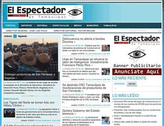 Thumbshot of Elespectador.com.mx