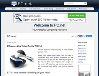 pc.net screenshot