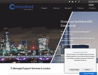 computrad.co.uk screenshot