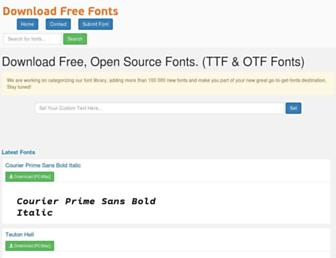 download-free-fonts.com screenshot