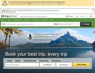 tripadvisor.in screenshot
