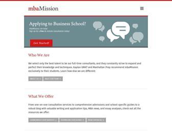 mbamission.com screenshot