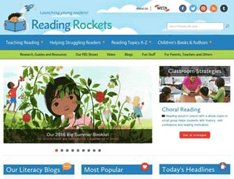 readingrockets.org screenshot
