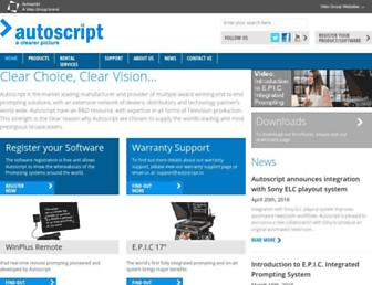 autoscript.tv screenshot