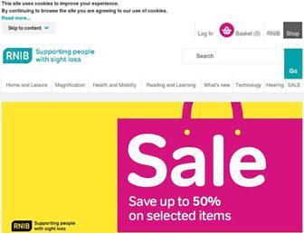 shop.rnib.org.uk screenshot