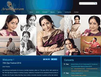 arunasairam.org screenshot