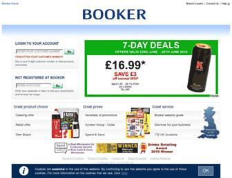 Thumbshot of Booker.co.uk