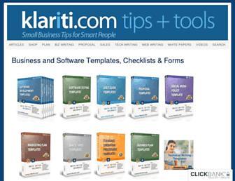 klariti.com screenshot