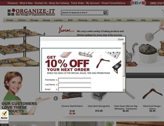 organizeit.com screenshot