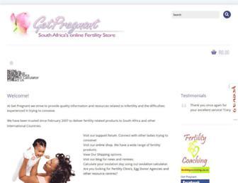 Thumbshot of Getpregnant.co.za