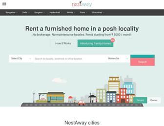 nestaway.com screenshot