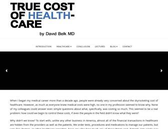 truecostofhealthcare.org screenshot