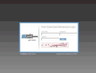 ssl.palmcoastd.com screenshot
