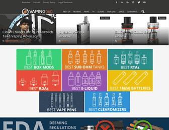 vaping360.com screenshot