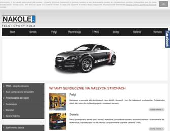 nakole.pl screenshot