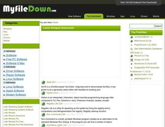 myfiledown.com screenshot
