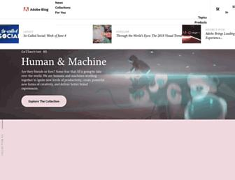 theblog.adobe.com screenshot