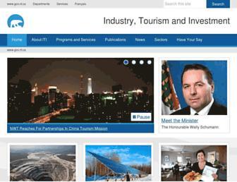 iti.gov.nt.ca screenshot