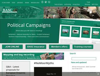 basc.org.uk screenshot