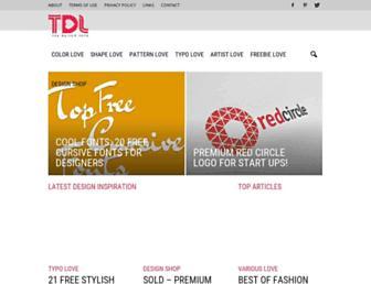 thedesignlove.com screenshot